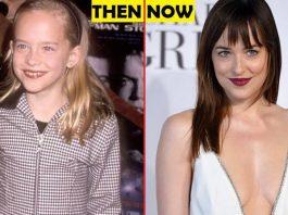 Dakota Johnson Then And Now