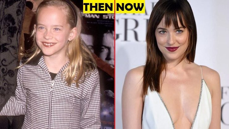 Dakota Johnson Then And Now