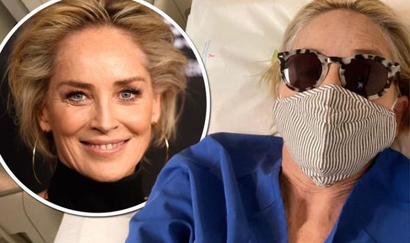 Sharon Stone Shared a Photo from a Hospital Bed